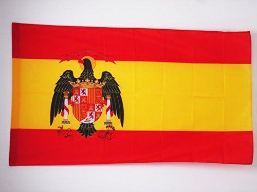 AZ FLAG Bandera de ESPAÑA 1977-1981 150x90cm para Palo - Bandera ...