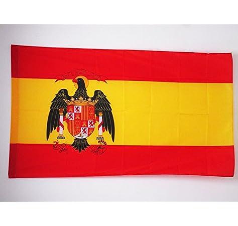 AZ FLAG Bandera de ESPAÑA 1977-1981 90x60cm para Palo - Bandera ESPAÑOLA con Aguila 60 x 90 cm: Amazon.es: Hogar