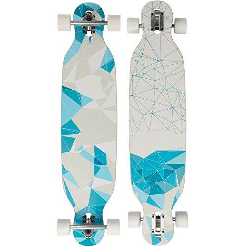 Ultrasport Longboard Skateboard für City- und Park-Cruising - Komplettboard