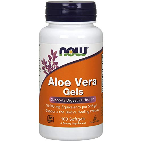 Cheap NOW Aloe Vera Gels, 10000mg,100 Softgels