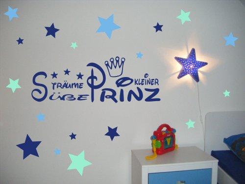 wandtattoo kinderzimmer, kind, baby ~ text: süße träume kleiner ... - Kinderzimmer Wandtattoo Junge Aufkleber Lieben