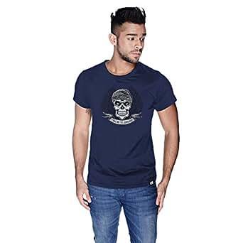Creo Take Me To Jumeirah Bikers T-Shirt For Men - Xl, Navy Blue