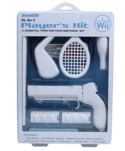 Wii 15 in 1 Players Kit (Dreamgear Wii Game Blaster)