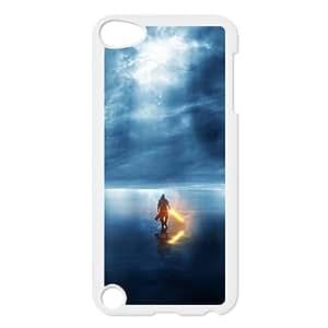 iPod Touch 5 Case White digital Art Nkxrm