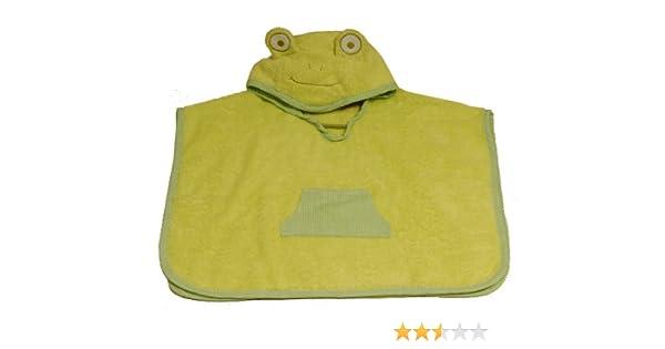 Minene 3202 - Poncho de algodón ranita, color verde: Amazon.es: Bebé