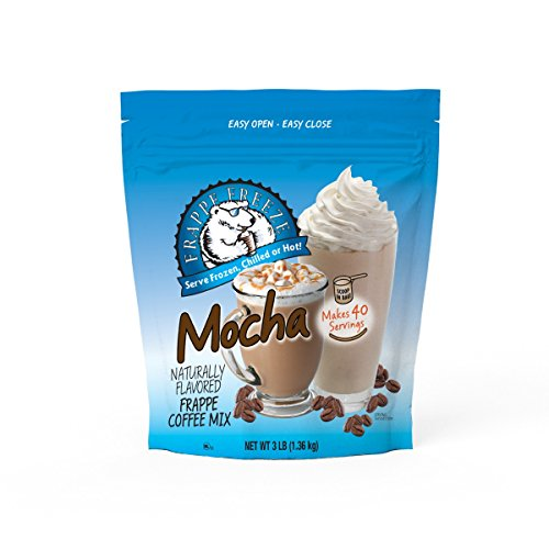 DaVinci Gourmet Frappe Freeze Frappe Coffee Mix, Mocha, 3 Pound Bag, 40 Servings ()
