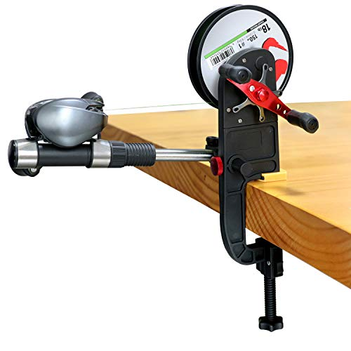 fishing line winder system