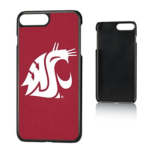 Keyscaper NCAA Washington State Cougars WSU Solid Slim Case, iPhone 8 Plus/7 Plus/6 Plus, ()