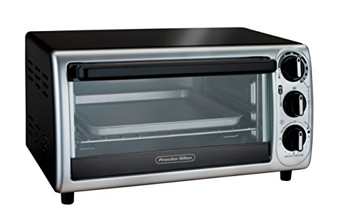 Z&F ADJUSTABLE Modern Toaster Oven WITH TIMER & AUTO-SHUTOFF TOAST, BAKE, BROIL (Proctor Silex Toaster Oven Pan compare prices)