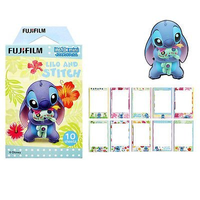 - Fujifilm Instax Mini Instant Film (10 sheets, Disney Lilo and Stitch)