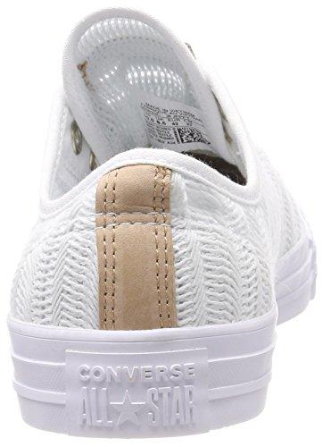 Mouse Femme Baskets Tan White Ox CTAS Blanc 102 Mouse Tan White Converse Xpv6wv