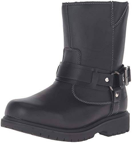 - Deer Stags Boys' Curb Pull-On Boot, Black, 7 M US Big Kid