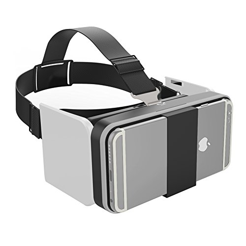 Vrlinking 3D Virtual Reality Pocket Glasses, HD Immersive Experience Folding VR Box Viewing Glasses ,Adjustable Focal Distance / High-Definition Private Theater for Apple iPhone,Samsung Sony and More
