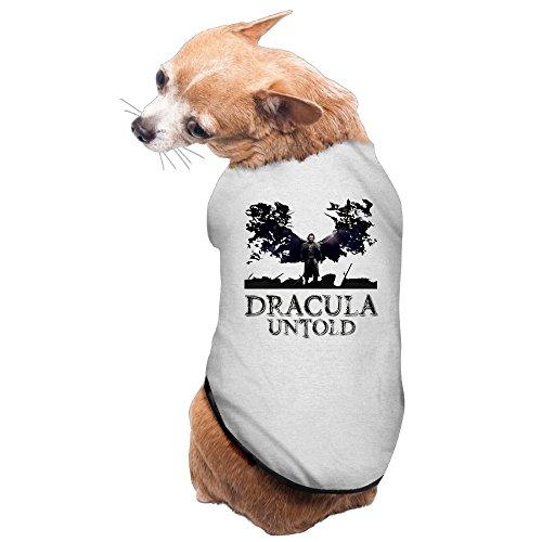 [Greenday Fantasy Untold Funny Pet Doggie Pets Costumes Size S Gray] (Dracula Untold Costume)