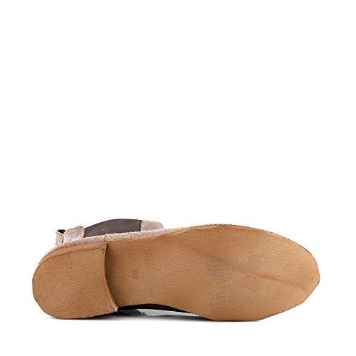 Felmini - Zapatos para Mujer - Enamorarse com Bertha 9927 - Botines Classicas - Cuero Genuino - Multicolore Multicolore