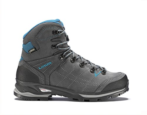 "Lowa Vantage Mid GTX ""delgada"" botas trekking señoras (antracita/turquesa) GB 5,5"