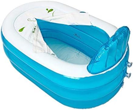 PVC折り畳み式携帯インフレータブル浴槽はインフレータブルバスタブベビーシャワーキャンプ旅行の大人のバスタブの子供を厚くし,160*85*45cm