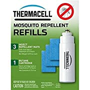 Thermacell Mosquito Repellent Refill Pack for Repellers, Torch and Lanterns – 12 Hours Protection