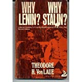 Why Lenin? Why Stalin? : A Reappraisal of the Russian Revolution, 1900-1930, Von Laue, Theodore H., 0397472005
