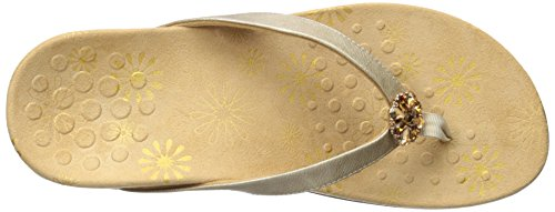 Thong Gold Vionic Gold Sandals Sharon Women pwpHtXx