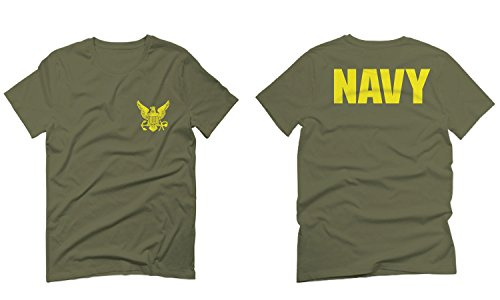 US Navy Seal United States of America American Combat Soldier Front and Back for Men T Shirt