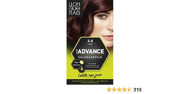 Llongueras Color Advance Tinte, Tono: 5,6 Caoba - 200 g ...