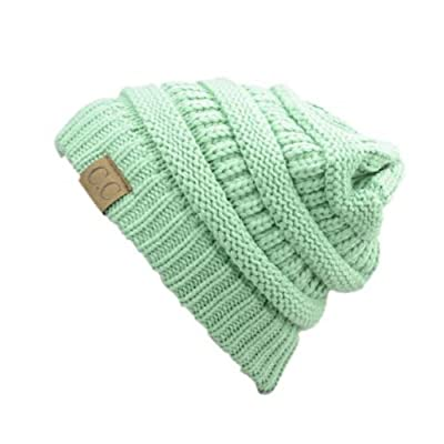 Acrylic Unisex Winter hat warm (US Seller)Sage_New Super Cute Thick Cap Hat 100%