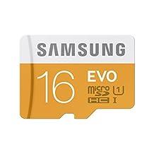 SAMSUNG 16GB EVO Class 10 Micro SDHC with Adapter upto 48MB/S (MB-MP16DA/Am)