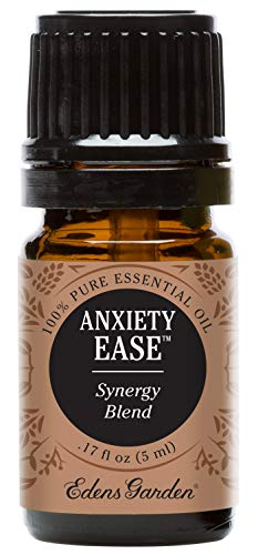 Edens Garden Anxiety Ease 5 ml 100% Pure Therapeutic Grade GC/MS Tested (Sweet Orange, Ylang Ylang, Lemongrass)