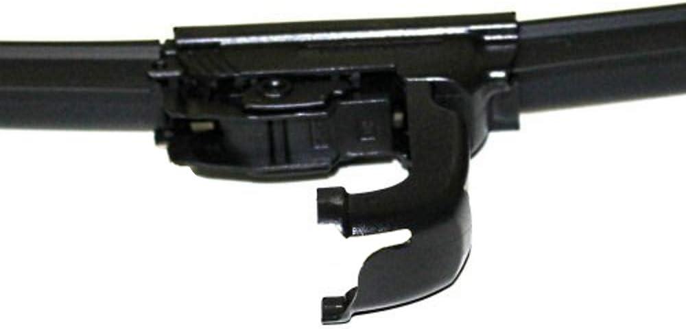 60cm Juego de 2 escobillas para limpiaparabrisas AERZETIX 40cm