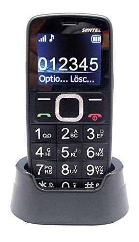 Switel M170 BRAVO Quadband Mobiltelefon mit grossen Tasten schwarz