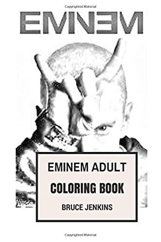 Amazon com eminem adult coloring book king of hip hop and the Cristiano Ronaldo Coloring Pages Eminem Cartoon Coloring Pages Jay-Z Coloring Pages