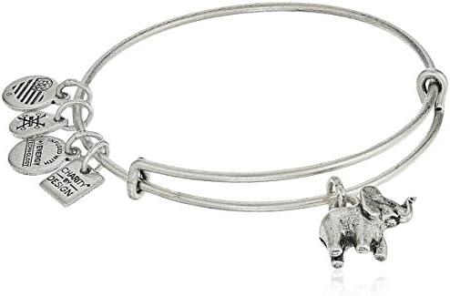 charity design elephant bangle bracelet product image