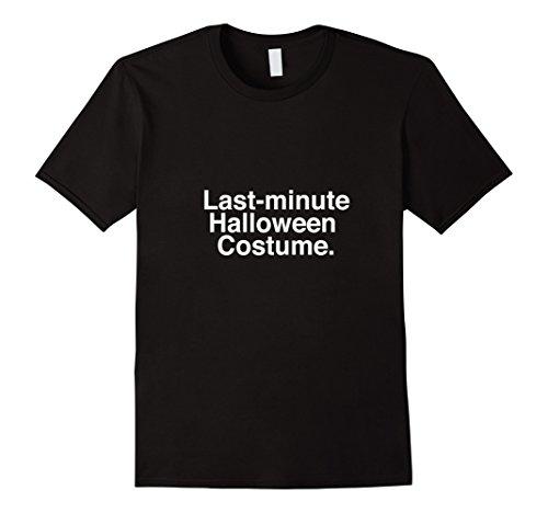 Mens Last Minute Halloween Costume Shirt XL (Last Minute Halloween Costume For Boy)