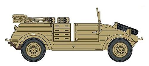 プラッツ 第二次世界大戦 ドイツ軍 キューベルワーゲンワークショップ プラモデル CH6338
