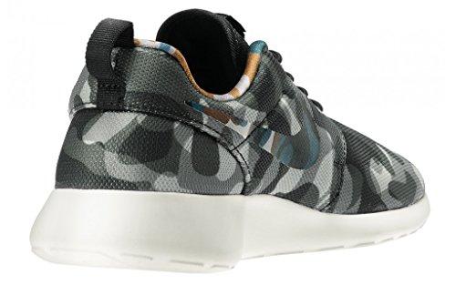 Nike WMNS Nike Rosherun Print 599432 Damen Laufschuhe Black/Anthracite/Cool Grey/Brigade Blue