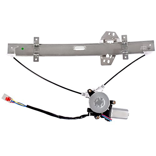 Power Window Regulator + Motor Assembly for Honda Accord 1998 1999 2000 2001 2002 4 Door Sedan, Front Left Driver ()