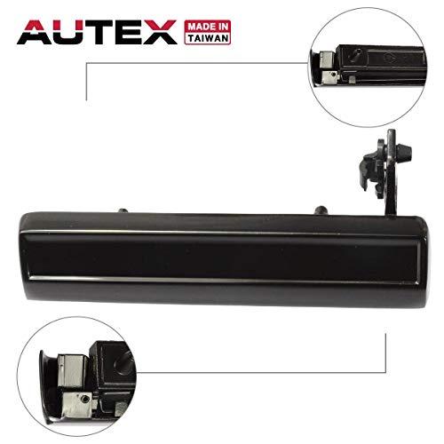 - AUTEX Door Handle Exterior Front Left Driver Side Compatible with Chevrolet,Pontiac,Oldsmobile,Buick,Cadillac,Cimarron 82-94 15969376 20260759 77112