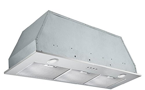 Broan Power Pack - Ancona Inserta Plus Built-In Range Hood, 36-Inch, Stainless Steel - AN-1364