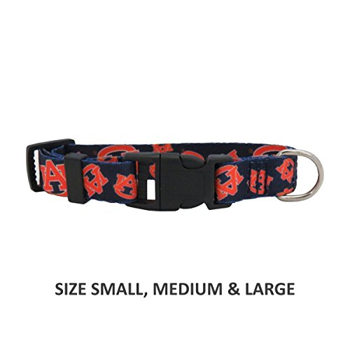 Auburn Tigers Pet Nylon Collar - Small