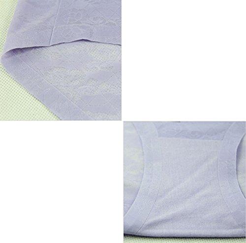 POKWAI Womens Confort Premium Bikinis Calzoncillos 3 Paquete A1