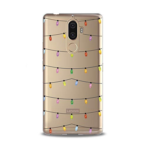 Lex Altern TPU Case for Lenovo Phone K8 Note K6 Note 2017 K5 Plus Z5 Cover Gift Cutie Smooth Child Yellow Clear Design Green Lightweight Garlands Colored Flexible Slim fit -