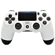 White Custom PS4 Rapid Fire Modded Controller for COD games All Games (CUH-ZCT2) - Infinity Warfare, Destiny and more