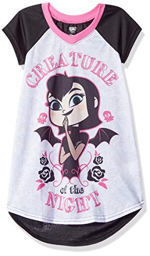 (AME Sleepwear Girls' Little Hotel Transylvania Nightgown, Night Creature)