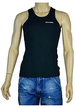 Lee Cooper Black Under Shirt For Men
