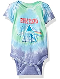 Baby Pink Floyd Dark Side Oil Paint Onesie