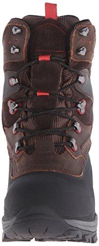 Kamik KEYSTONE - botas de nieve de cuero hombre marrón - Braun (BROWN-BRUN / BRN)