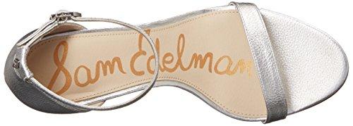 Sandalo Sam Edelman PATTI Silver Taglia 36,5 - Colore ARGENTO