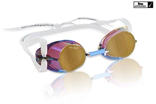 Swedish Goggles Original Metallic Monterbara (Gold Metallic)
