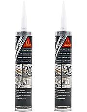 2x Sikaflex 221 wit 300 ml duurzaam elastisch, overschilderbaar, breed hechtspectrum voor caravans en campers